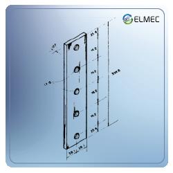 Platina adaptadora vertical